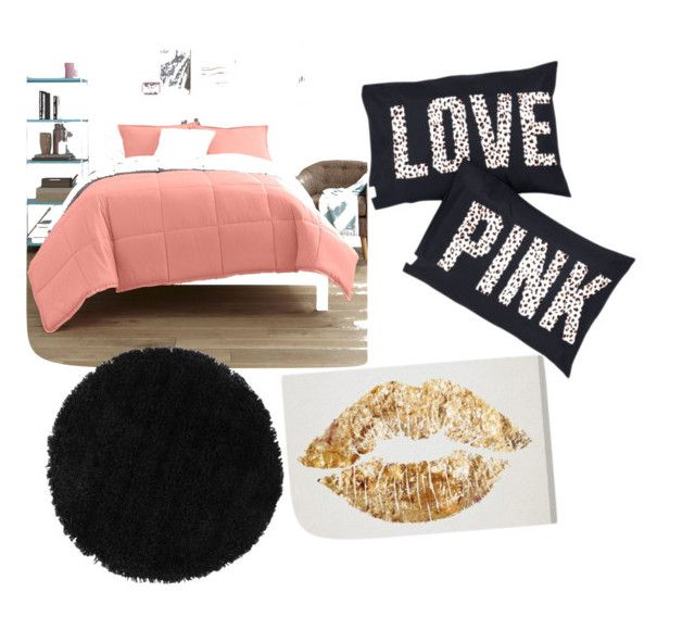 """""""Cute bedding"""" by douglastaylor on Polyvore featuring interior, interiors, interior design, home, home decor, interior decorating and JCPenney Home"""