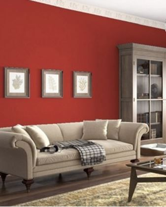 Benjamin Moore Deep Rose Warm Earthy Red Family Rooms Room Colors