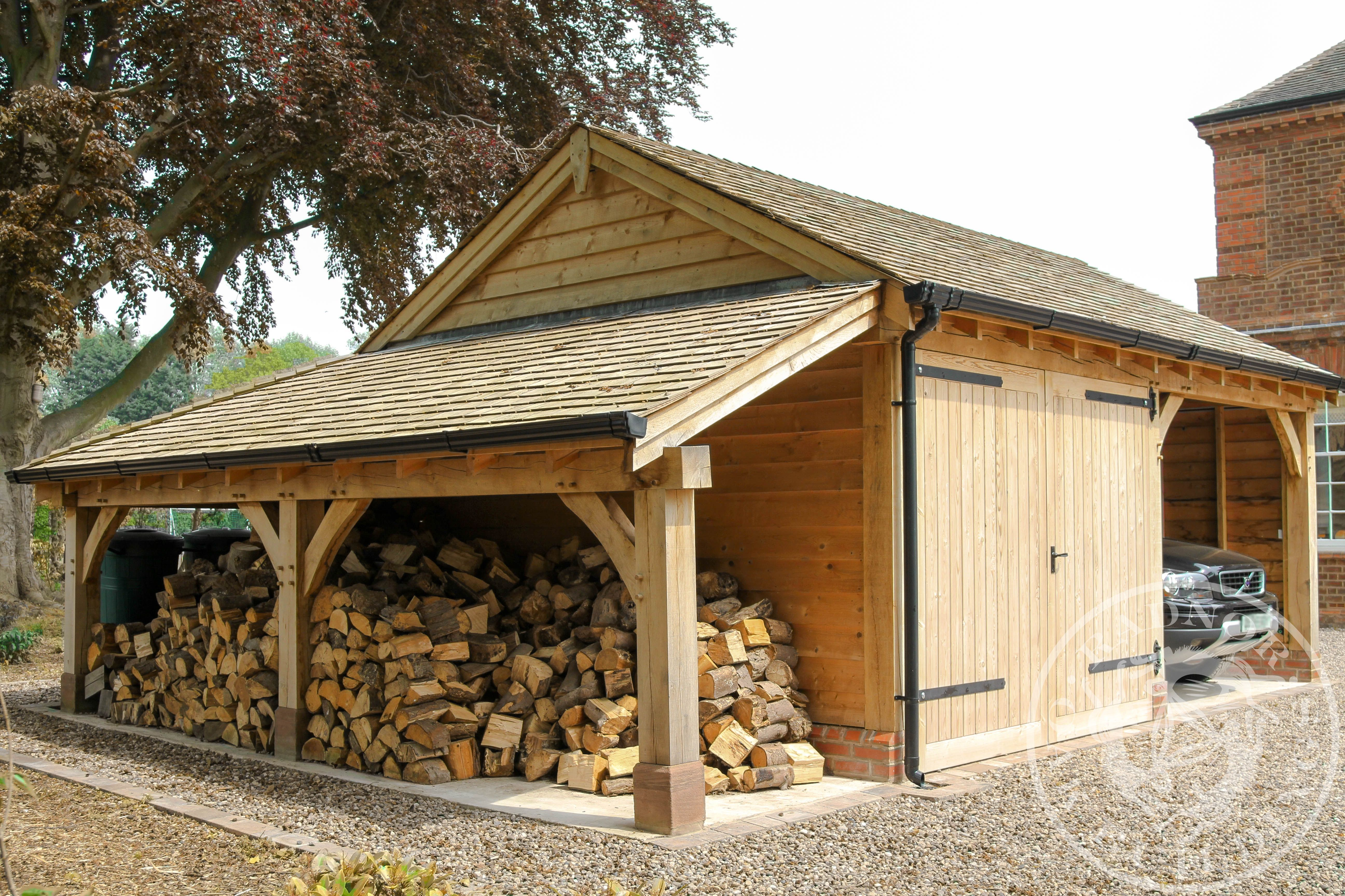 Pin on Log Stores and Storage Buildings