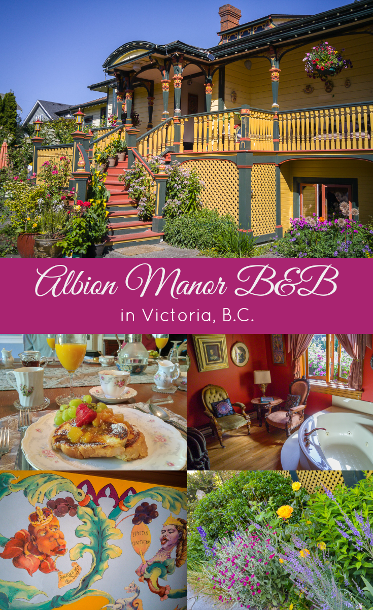 A Quirky Bed & Breakfast in Victoria, B.C Canada travel