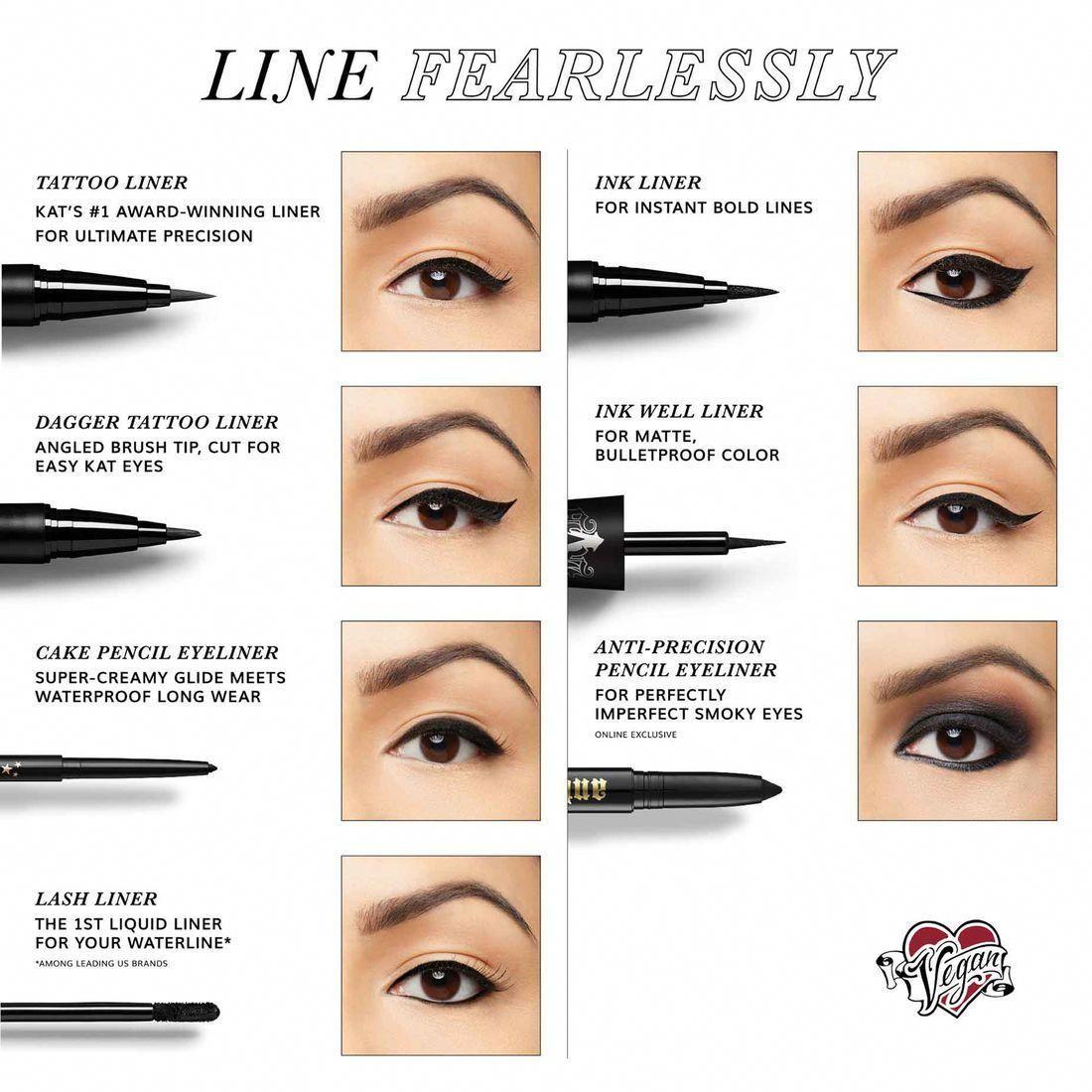 KVD Vegan Beauty - Tattoo Liner  Makeup eyeliner, Pencil eyeliner