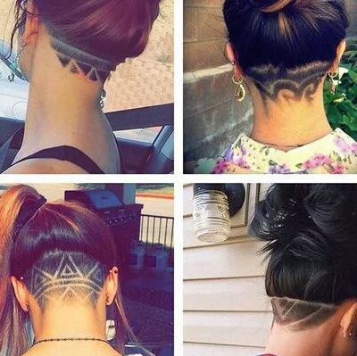 34+ Back shaved hair designs trends