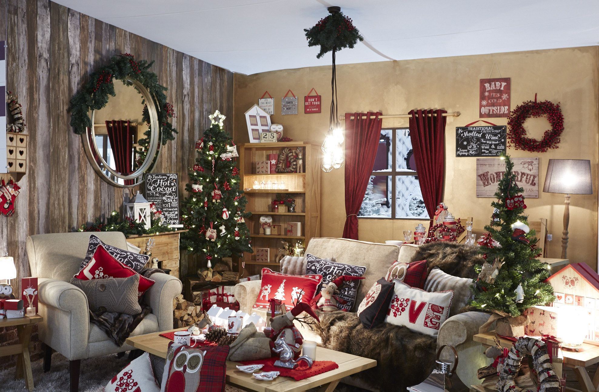 Festive Roomset Have An Ideal Christmas Pinterest