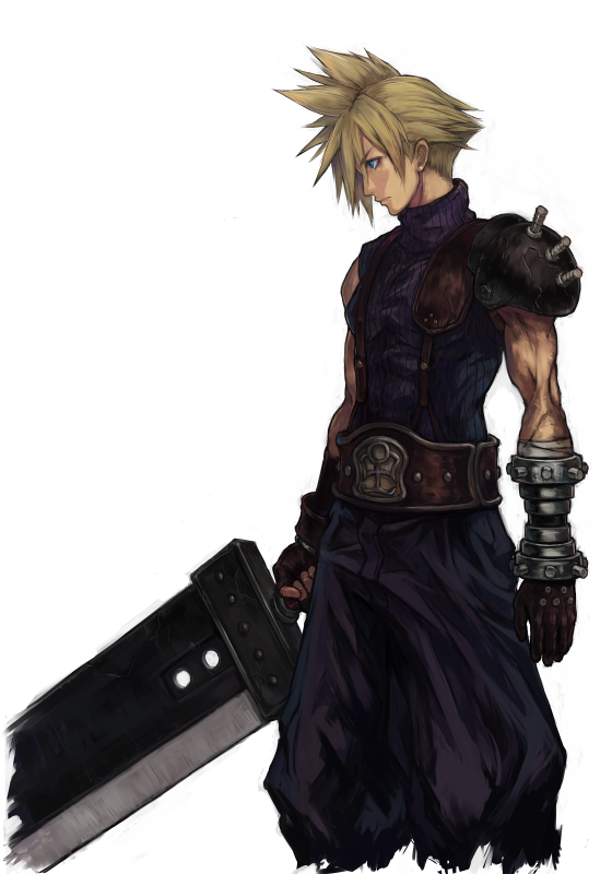 Cloud Strife - Final Fantasy VII _____________________________ Reposted by Dr. Veronica Lee, DNP (Depew/Buffalo, NY, US)