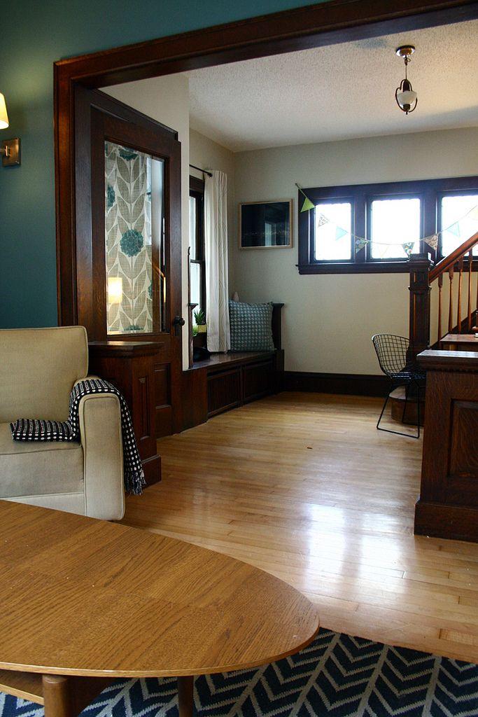 Vintage Furniture Glass Living Room Showcase Design Wood: Dark Wood Trim, Home, Blue Grey Rooms