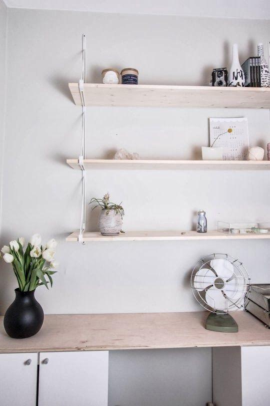 Estanter a ikea string via miblog love estanter a - Armarios oficina ikea ...