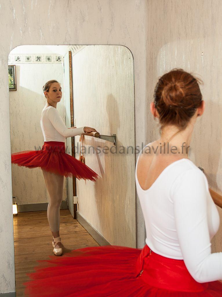 Her. Ballet Dancer. She.