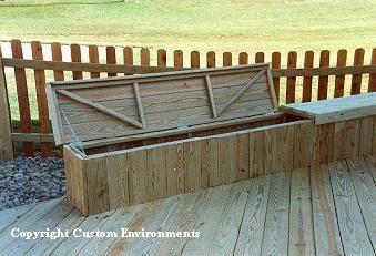 Deck Storage Bench Plans Free Build Wood Bench Seat Diy