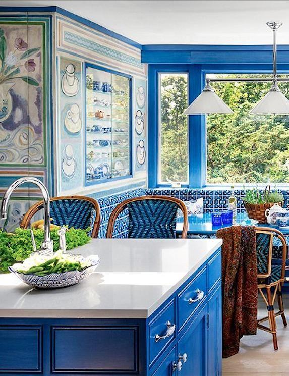 Cobalt Blue Kitchen Cabinets - Kitchen Ideas Style
