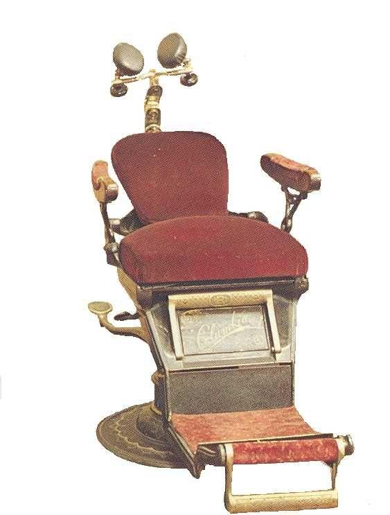 1893-1901 Ritter Dentist Chair - 1893-1901 Ritter Dentist Chair Vintage Dentistry, Dental, Dental Art