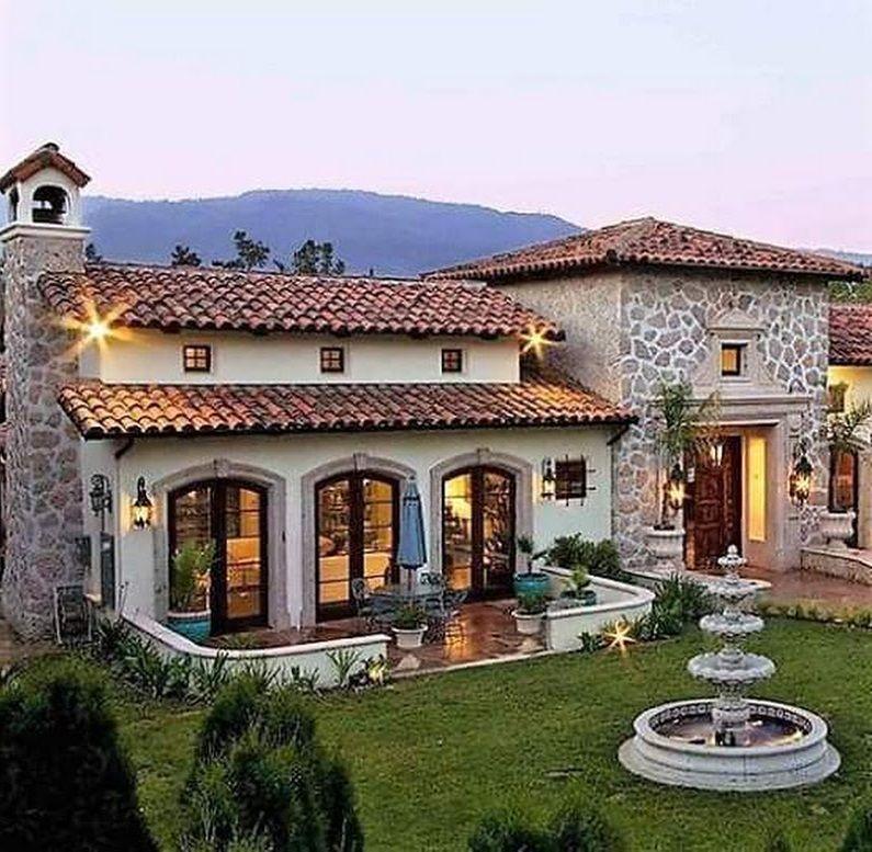 12 Fachadas casas rusticas