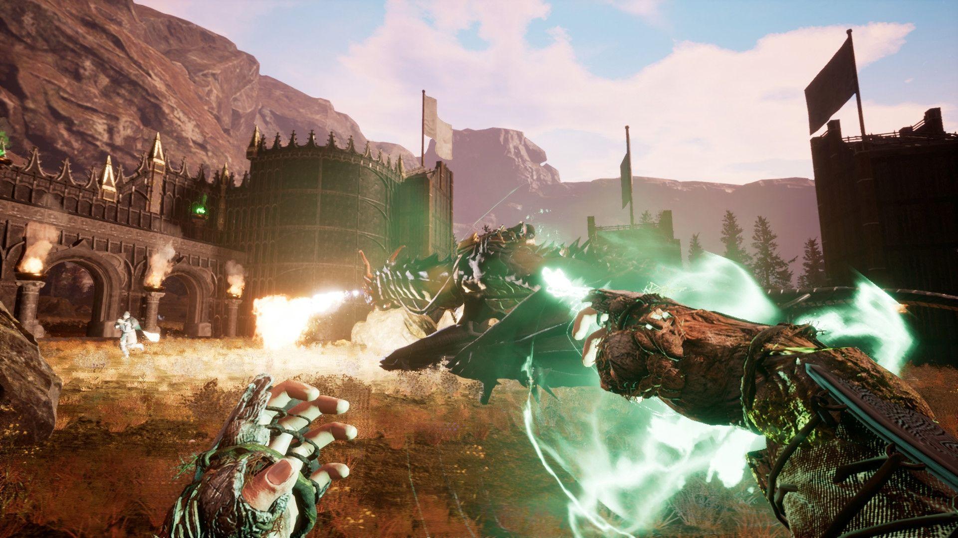 Online sandbox RPG Citadel lets you fly on a broomstick