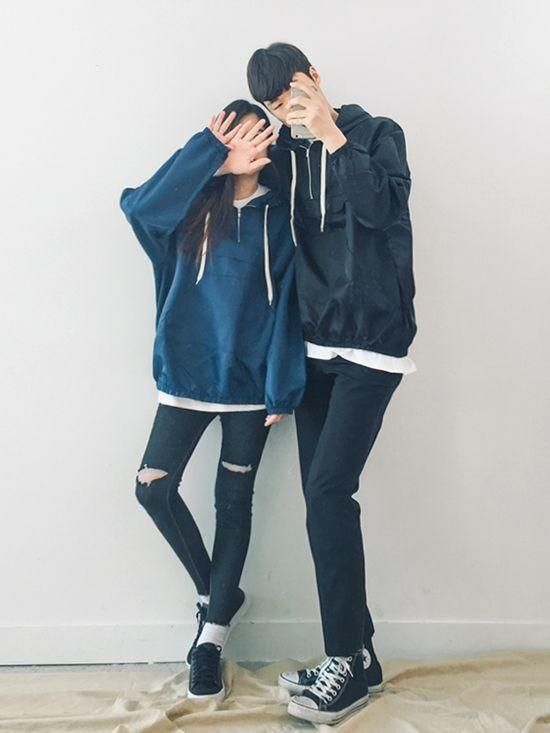 f82d11c13d pinterest // @emilymcbabe Cute Korean, Fashion Couple, Couple Clothes, Matching  Couple