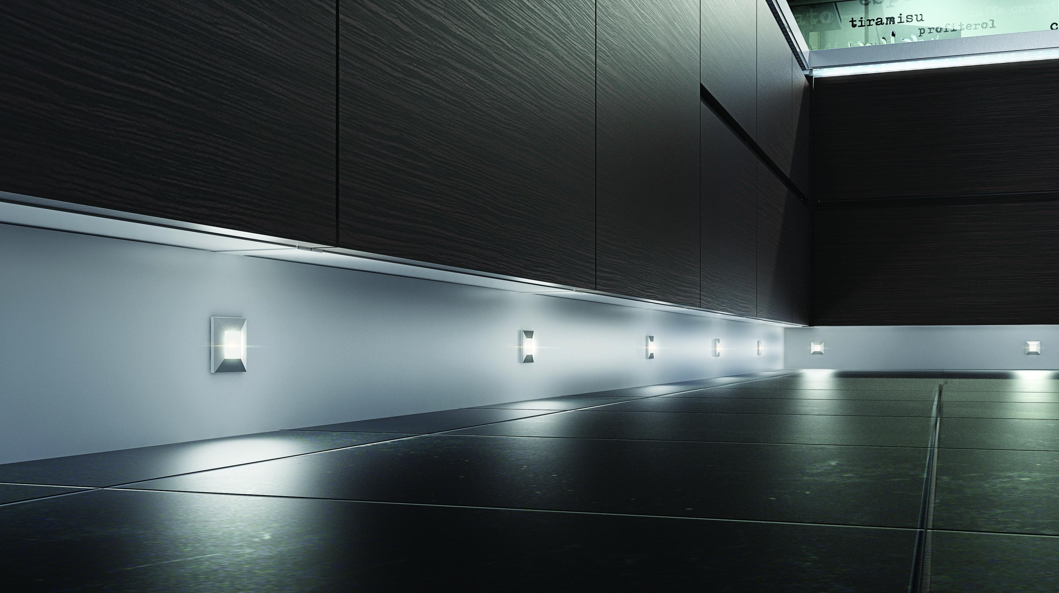 LED Luce Plinth Lights Kitchen Lighting Ideas Tips Pinterest - Kitchen plinth lights white