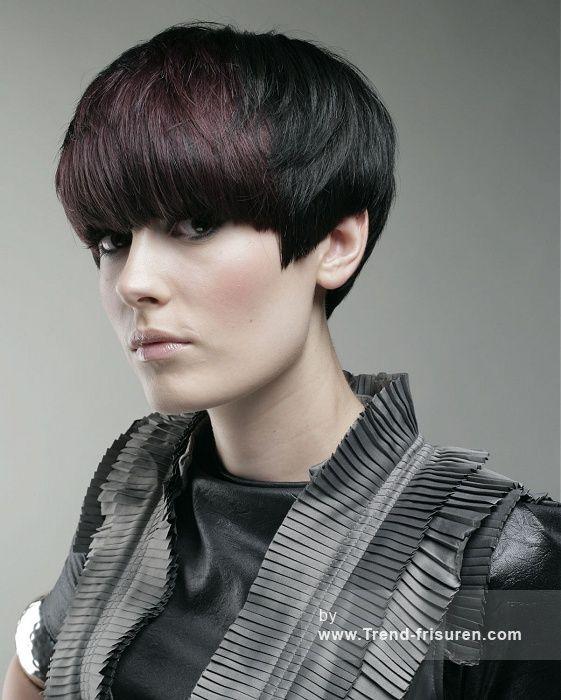 Frisuren frauen kurz schwarz