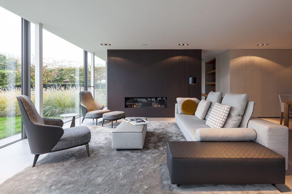Swinnen store interior elegante woonkamer in de klinge hoog