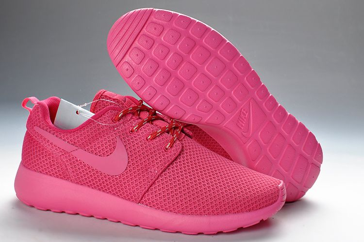 Nike Roshe Run Womens Popping Pink 511882 660 | SHOES | Pinterest