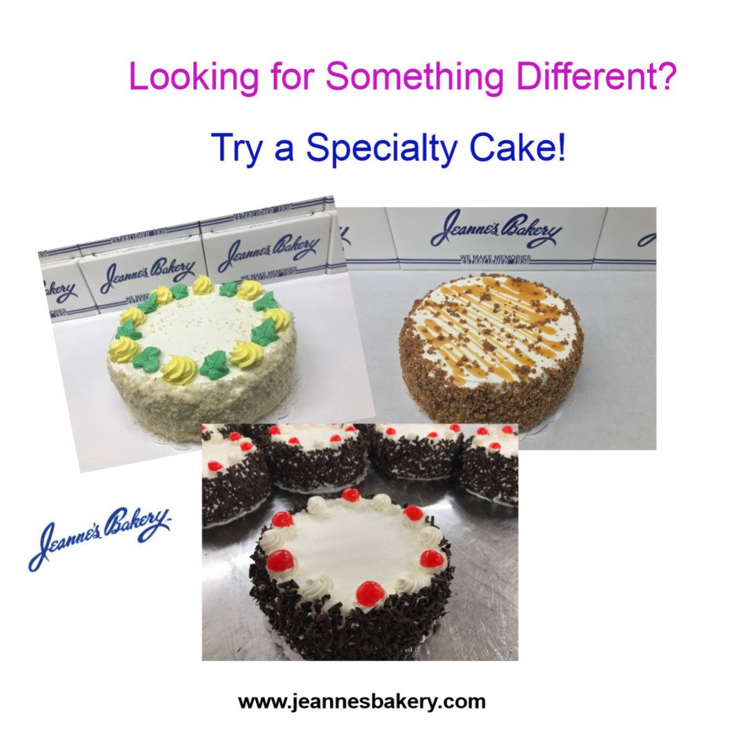 Looking for Something a Little Different?? Try a Specialty