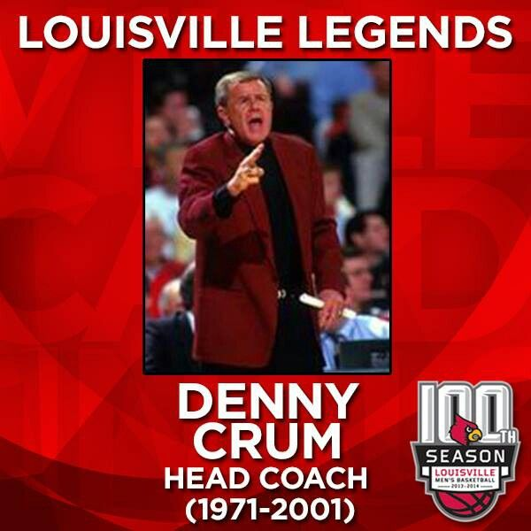 Coach Crum | Louisville cardinals basketball, Louisville ...
