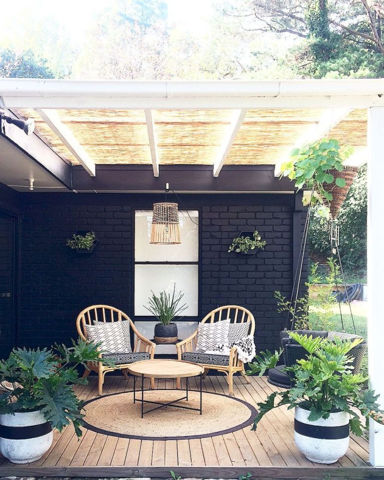 Inspiring Outdoor Living Space Design Ideas 11 Outdoor Living Space Design Patio Design Back Porch Designs