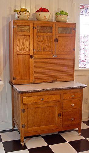 old hoosier | Vintage kitchen cabinets, Hoosier cabinet ...