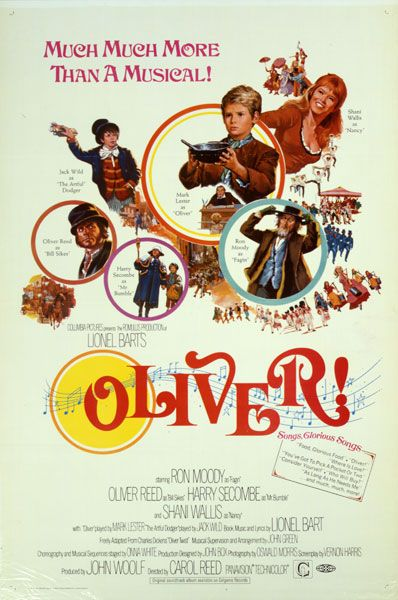 The 41st Academy Awards | Oscar Legacy | Academy of Motion Picture Arts and Sciences 1968 Oliver