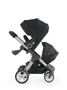 For-Your-Little-One Large Buggy Clip//Mummy Clip Black