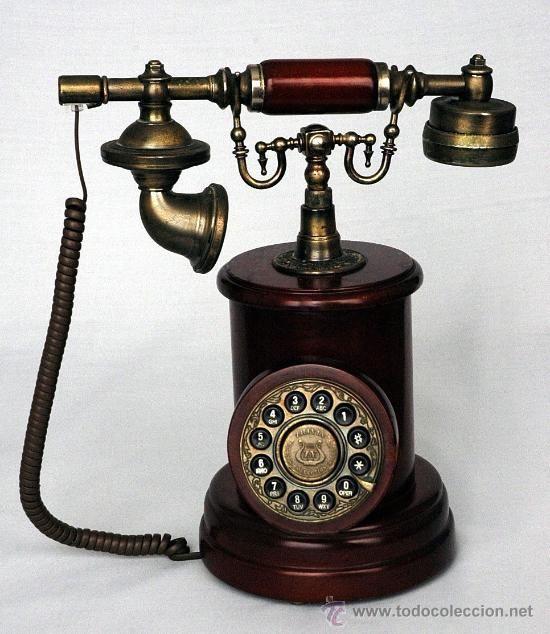 Telefono Imitacion Antiguo Muy Decorativo Telefono Antiguo Telefono Telefono Viejo
