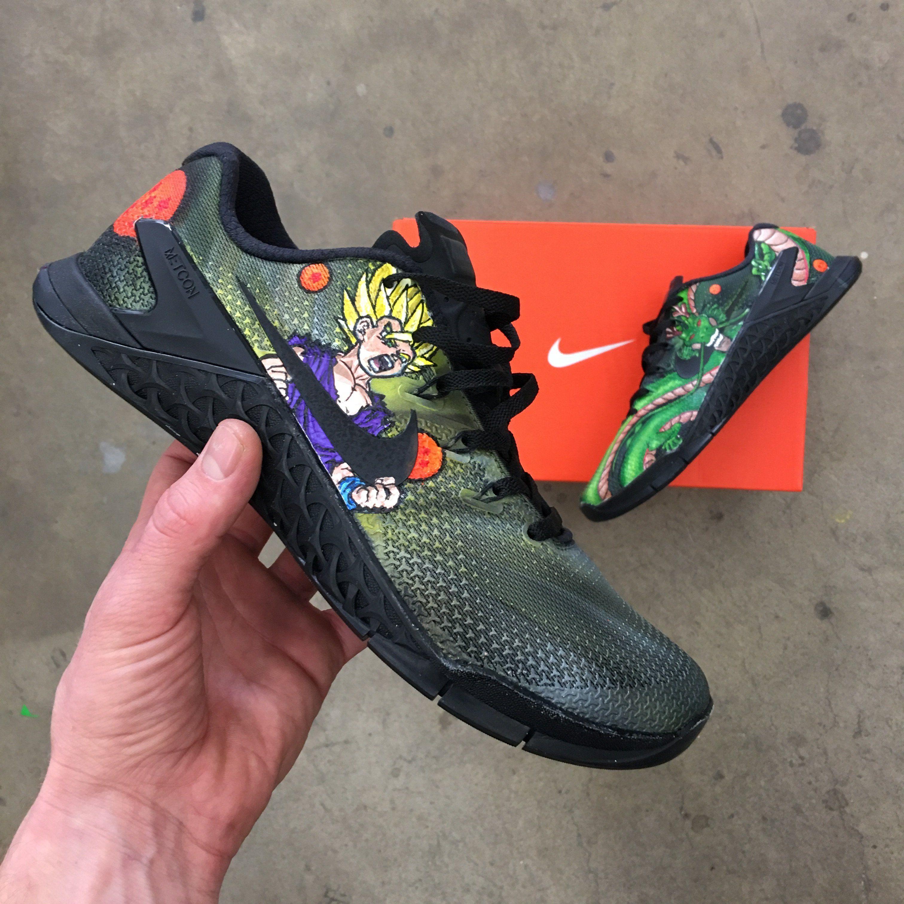 Dragon Ball Z Themed Nike Metcon 4s