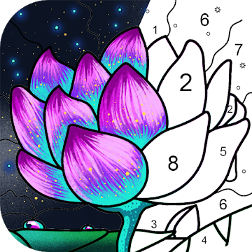 Paint By Number Free Coloring Book Puzzle Game Apps On Google Play Coloring Books Paint By Number Coloring Pages