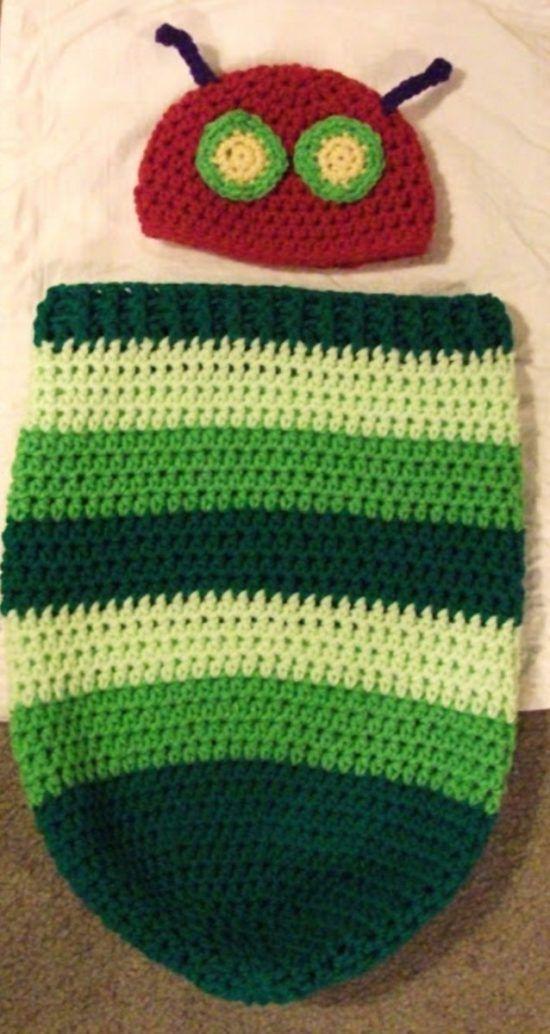 Hungry Caterpillar Crochet Pattern Ideas You\'ll Love | Pinterest