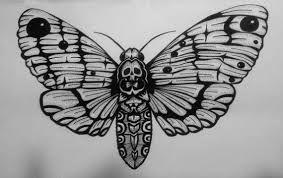 49+ Papillon tete de mort tatouage trends