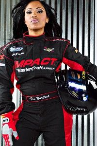 Newton Tia Norfleet S Background Called Into Question Female Race Car Driver Nascar Female Racers