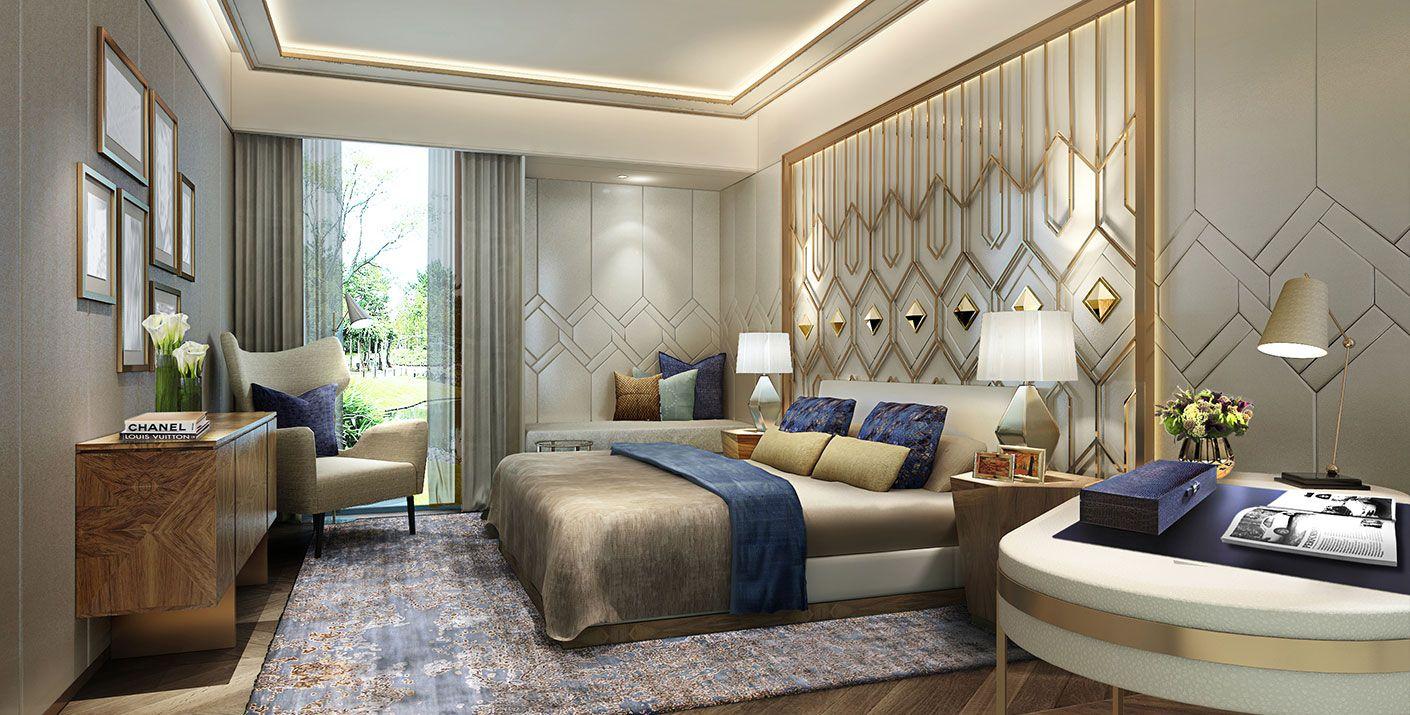 Luxury Bedroom Interior Design Inspiring 5 Star Hotel Penthouse