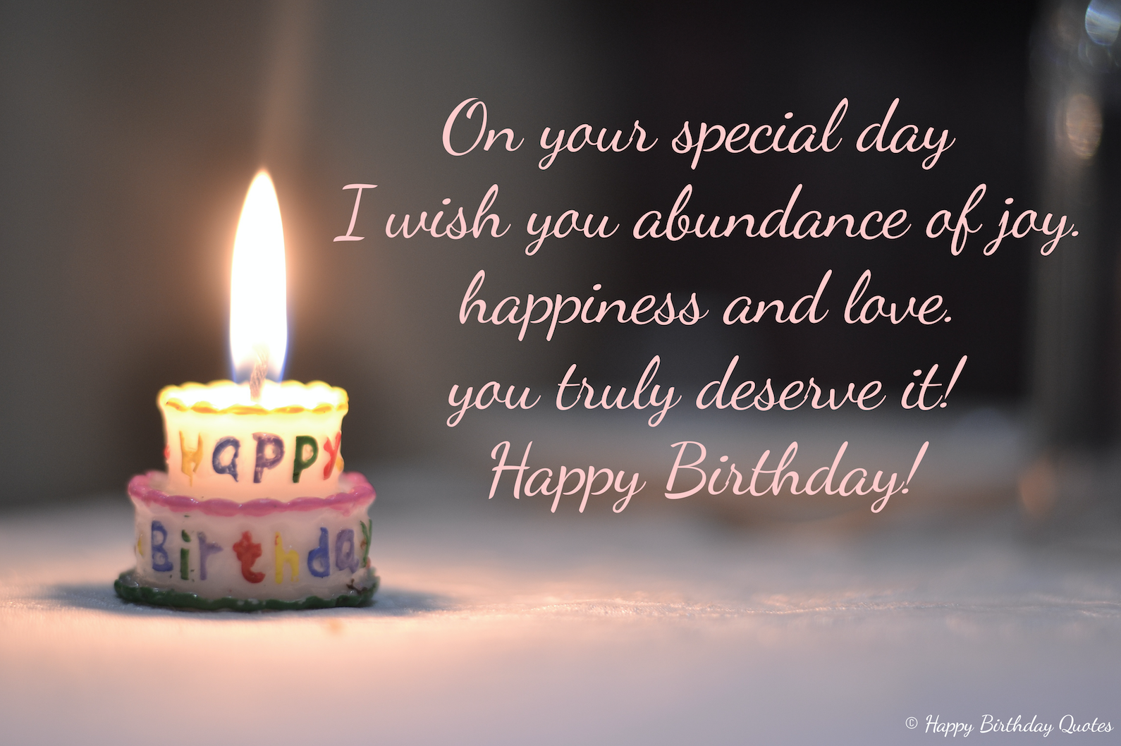 Happy birthday Quotes - Happy Birthday Cake Message Happy Birthda ...