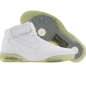 Nike Air Force 25 Supreme (white white chrome) shoes