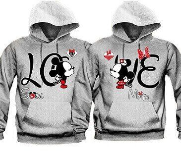 8ff67f076b UNISEX Adult SOUL and MATE Mickey and Minnie ------------------------  couple shirt, couple hoodie, matching hoodies, gift ideas, relationship  goals, ...