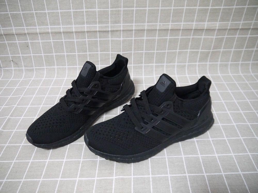 Bnib Running Training Shoes Size 11 Adidas Ultra Boost 1 0 Bb4677 Triple Black Fashion Clothing Sho Athletic Shoes Training Shoes Ultra Boost Triple Black