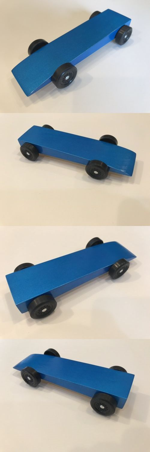 Wooden 2595 Fast Pinewood Derby Car Ready To Race Buy It Now