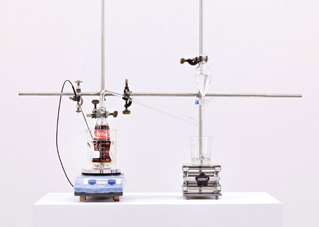 Watch This Device Turn Coca-Cola Back Into Water - Popular Mechanics