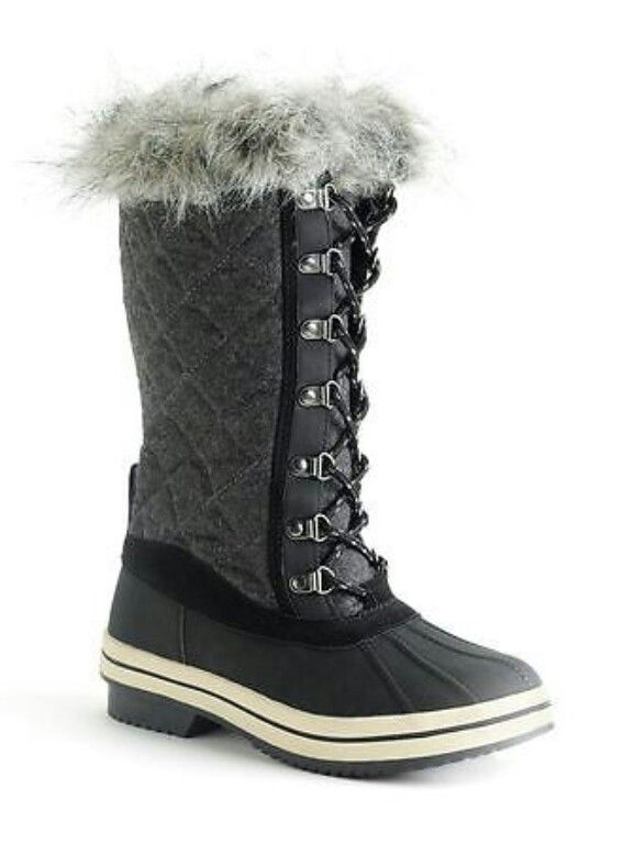 Totes Gina comfort warm lace up boots