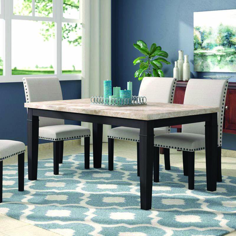 15 Stunning Granite Top Dining Room Tables Pedestal Dining Room