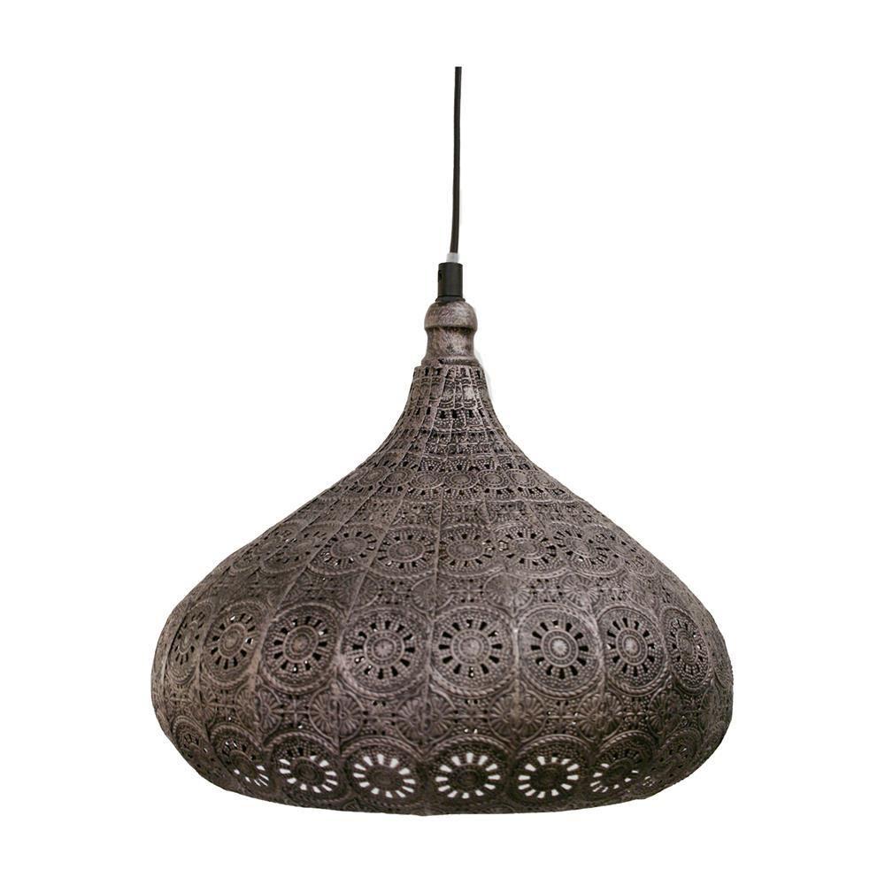 Eglo 49714 Melilla Antique Silver Vintage Moroccan Style