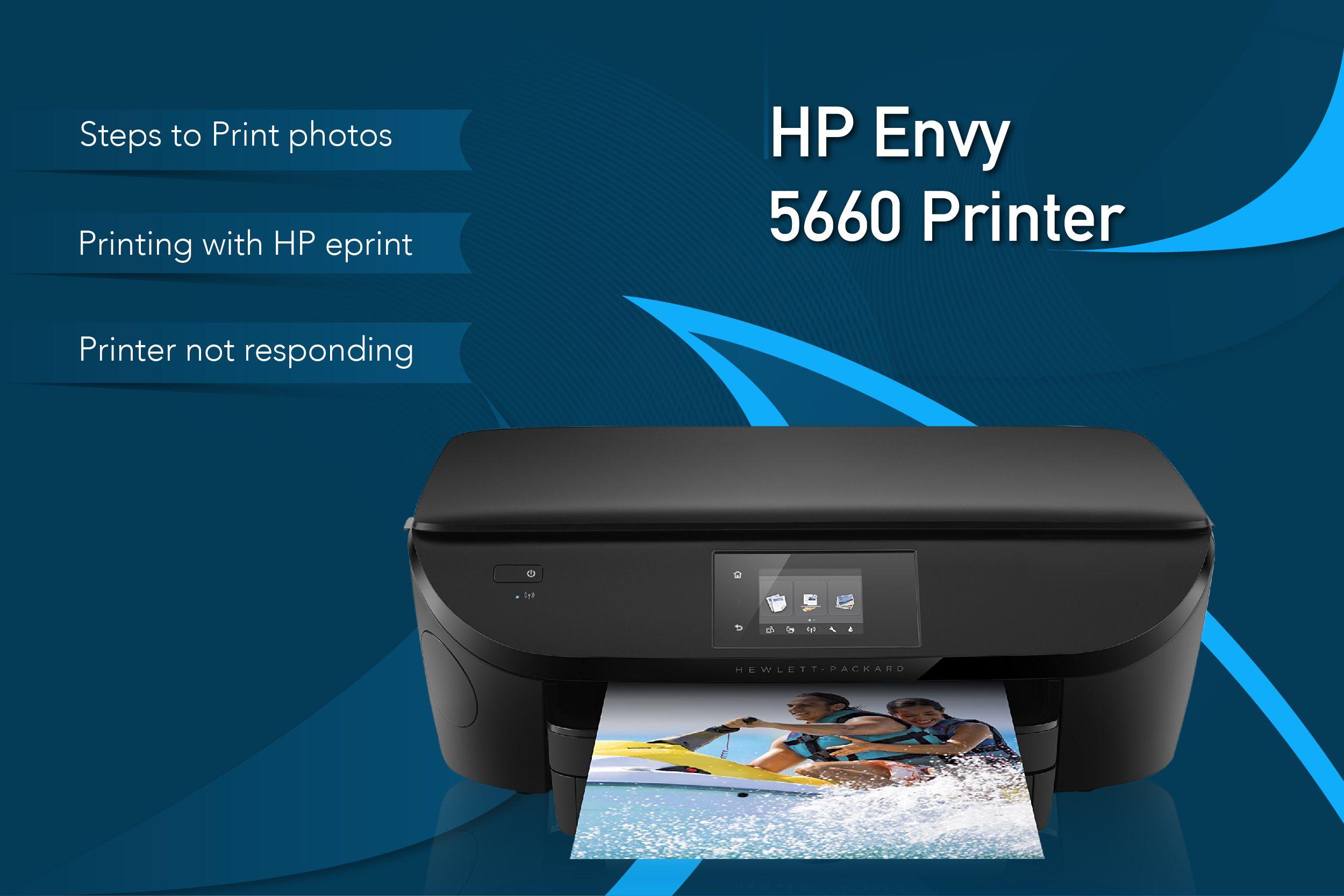 hp envy 5660 series printer driver