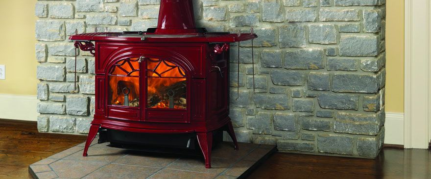 Wood burning and Stove fireplace