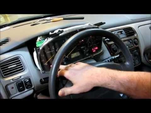 2000 Honda Accord Instrument Cer Display Lighting And Odometer Repair