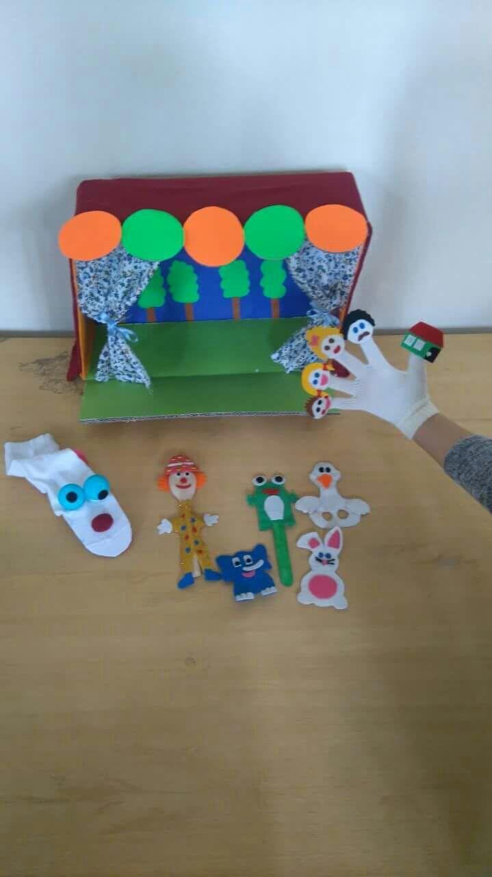 puppet show craft ideas | funnycrafts | puppet show crafts