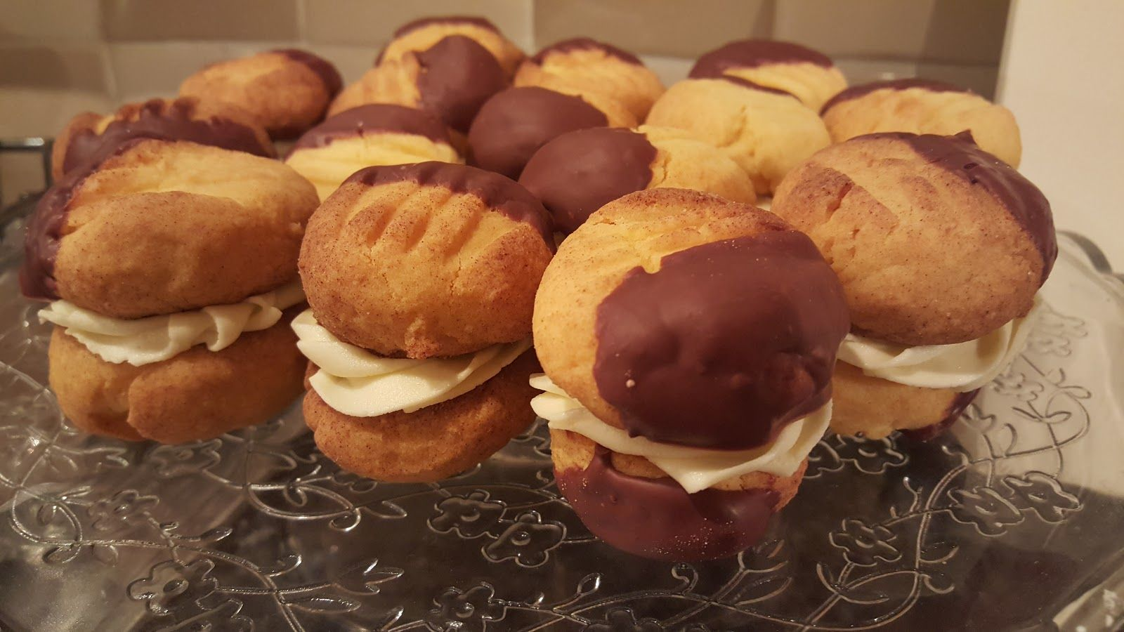Recipe of the Week Custard Creams {Gluten, Dairy & Egg
