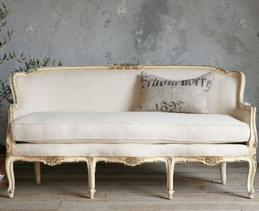 Boutique French Sofa French Vintage Sofa Vintage Sofa