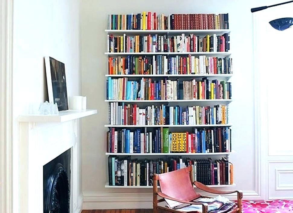 Bookshelf On Wall Wall To Wall Bookshelves To Wall Bookshelves Long Wall Shelf Mounted Bookshelf Wal Wall Mounted Bookshelves Wall Bookshelves Bookshelf Design